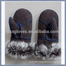 Soft Fur Gloves Warm Fur Gloves Winter Fur Gloves