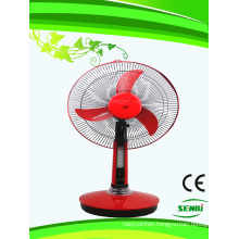 16 Inches DC 12V Rechargeable Fan Solar Table Fan