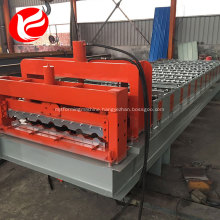 Roof metal sheet standing seam cold glazed tile forming machine
