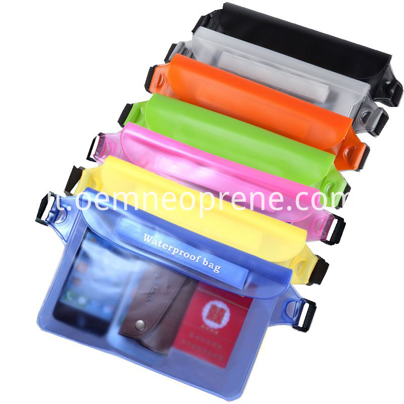 Colorful Waterproof Phone Bags