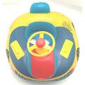 Barco de agua inflable de juguete para bebé con asa