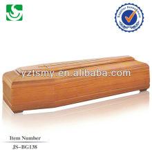Venda direta do fornecedor chinês design simples caixão Europeu