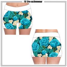 Women'ss Sexy Custom Sport Skin Tight Fitness Kompression Shorts