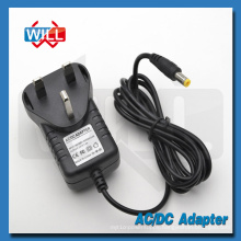 CE BS UK plug 5v 2.5a switching power adapter