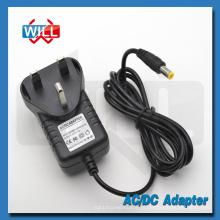 CE BS UK plug 5v 2.5a adaptador de alimentação de comutação