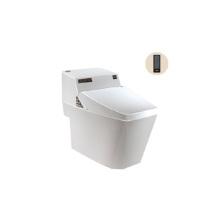 Armazenamento higiênico ideal padrão portátil portátil inteligente ocidental com assento de vaso automático