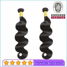 10A Human Hair Wefts 100% Brazilian Hair Bundle Black Body Wave Remy Hair