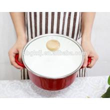 5 pcs personnalisé émail cuisson émail pot de soupe