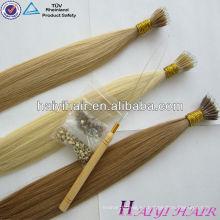 Trade Assurance Supplier Top Vrigin Remy humano Nano Ring Hair Extension