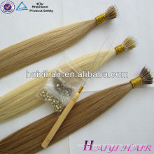 Trade Assurance Supplier Top Vrigin Remy Human Nano Ring Hair Extension