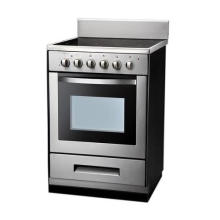 Fogão elétrico de aço inoxidável de alta qualidade com forno