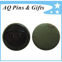 Insignia del botón del estaño de la alta calidad en paño (botón badge-46)