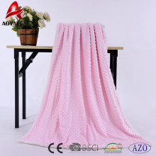 100% Polyester Druckblase Micromink Sherpa Decken