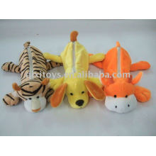 school animal plush pencil bag