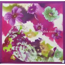 SC168-068 мода 100 шелковый квадратный шарф