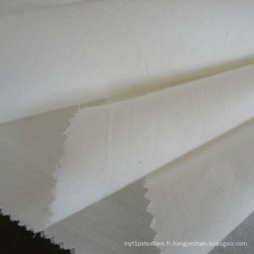 Tissu utilisé pour la poche ou Linning T/C 80/20 45sx45s gris 110 X 76