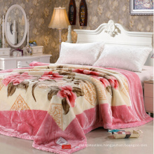 100 Polyester Super Soft Mink Printed Blanket