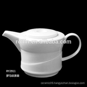 2016 Hot sell Restaurant Ceramic cup, Porcelain Pot Coffee Set, Commercial Crockery Tea & Coffee Pot