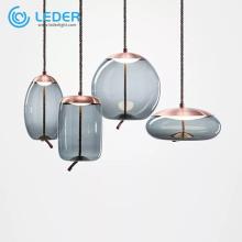 Luminaires suspendus à globe transparent LEDER