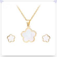 Jóias de aço inoxidável acessórios de moda jóias set (js0076)