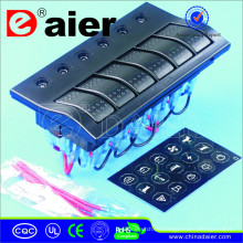 Wasserdichtes Panel 12V / 24V mit PCB + LED * 1