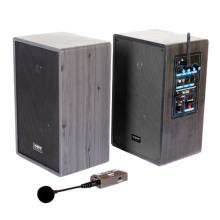 Altavoz 2.4G con el transmisor y el micrófono, audio para la sala de clase Sala de conferencias