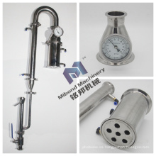 "2 ""3"" 4 ""6"" Acero inoxidable Alcohol Moonshine Pot Still Columna de destilación"