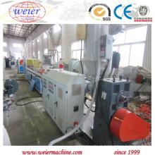 Máquina expulsando do perfil composto de madeira econômico do pó do PVC de WPC com único parafuso