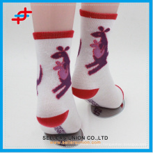 New style cute elastic kids quick dry polyester tube socks