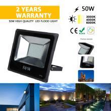 50W SMD AC85-265V luz LED para exterior à prova d'água