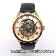 Novo estilo japão movimento automático de aço inoxidável moda watch bg201