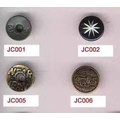 Unique Design Round Jeans Rivets Buttons Wholesale