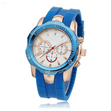 Top Sell Fashion Menwrist Genuine Leather Strap Watches
