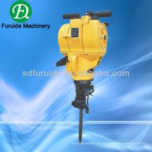 máquina de perforación de roca de gasolina para la venta