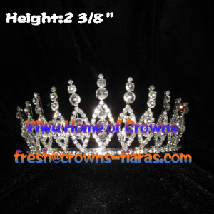 Pageant Crowns With Big Clear Diamond