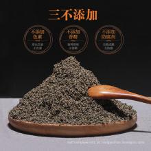 Pó de noz de feijão preto de gergelim preto de alta qualidade