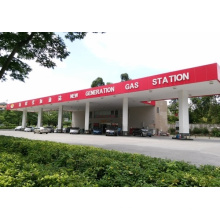 Space Frame Gas Station Canopy