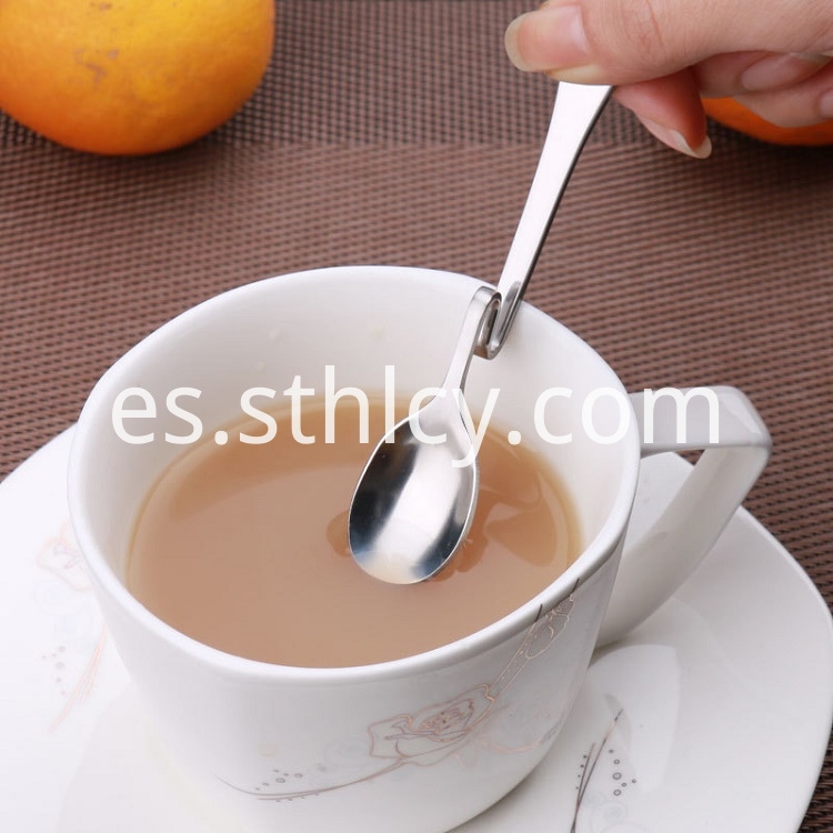 Bend Stainless Steel Spoon
