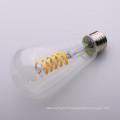 Ampoule à incandescence ST64 en verre ambre clair Dimmable 4w