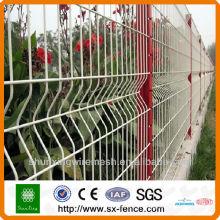 Galvaniser puis panneau de clôture revêtu de pvc
