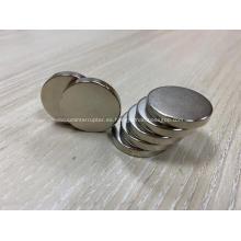 Imanes de disco de 1 pulgada de diámetro