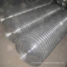 Malla de alambre de hierro electrosoldado galvanizado