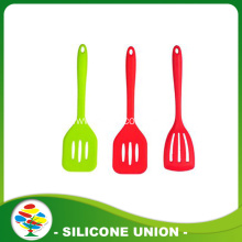 Safety products with high quality red silicone soup spoon