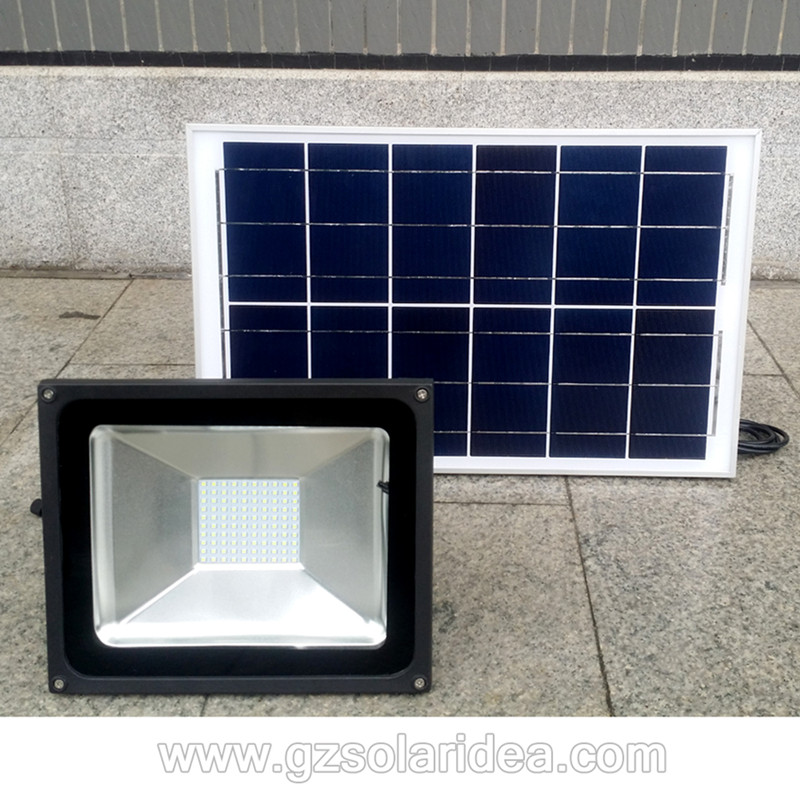 good quality solar flood light