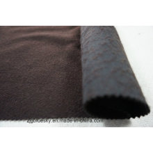 Black & Brown Doule Gesichter Wolle Stoff