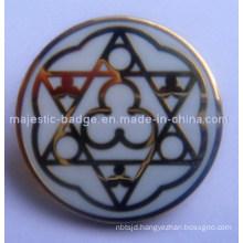 Hard Enamel Gold Plated Badge (Hz 1001 B047)