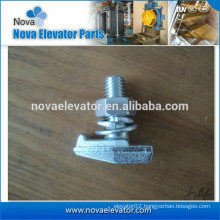 Elevator T3 Rail Clip with 2 washers