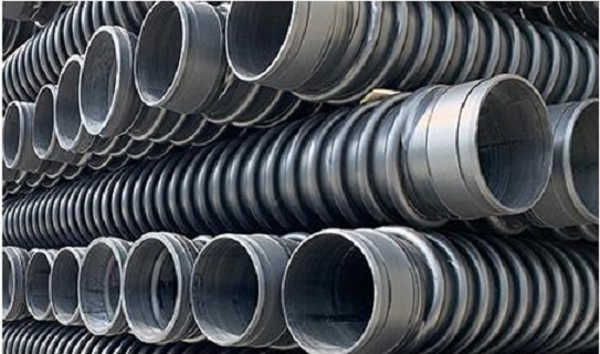 HDPE wound structural wall B-type pipe