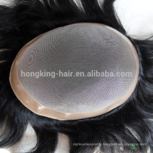 100% virgin remy customized hair piece toupee for men and women