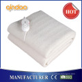 Qindao Ce/CB/GS/BSCI Approval Synthetical Wool Fleece Ten Heat Setting Electric Blanket